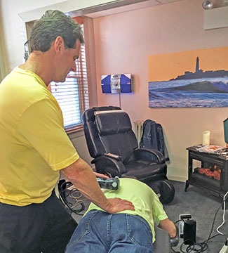 Dr. Neil Liebman uses Rapid Release Therapy(TM) at the Advanced Chiropractic and Wellness Center, located in Pennsauken, New Jersey.